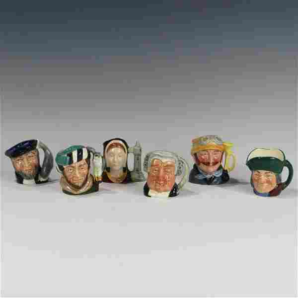 Royal Doulton Miniature Toby Mugs
