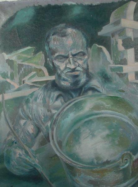 3: Man and Bucket