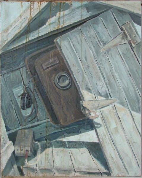 6: Broken Telephone Box