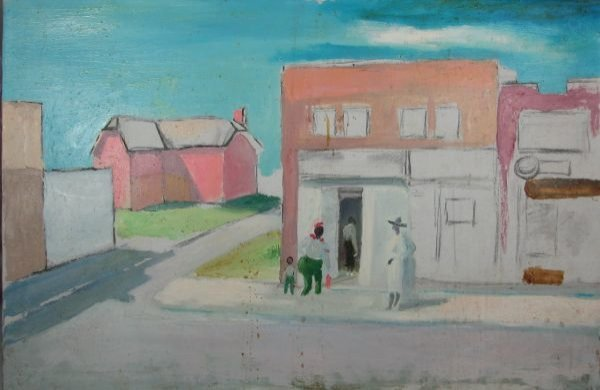 10: Town Corner (four figures)