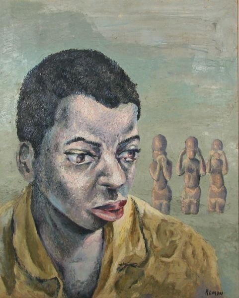 """17: Portrait of a Young Man (with """"See No Evil…"""" monke"""