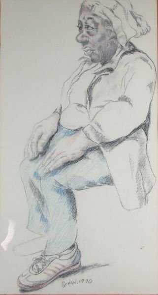 19: Seated Woman