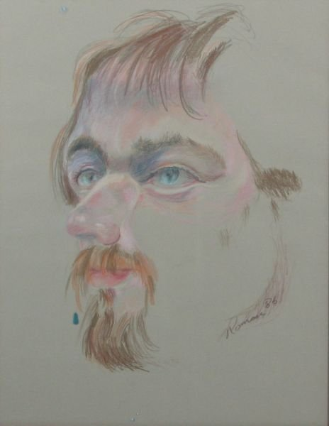 23: Portrait of a Man with Goatee
