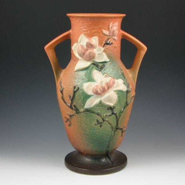 """10: Roseville Magnolia 98-15"""" Vase - Mint"""