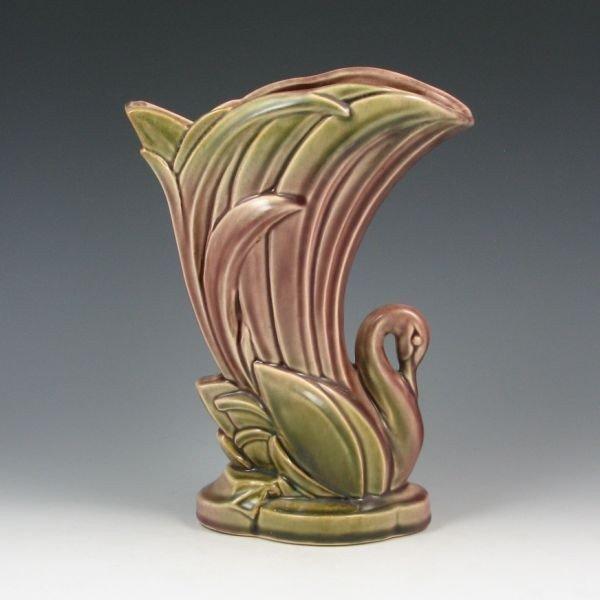 93: McCoy One-Of-A-Kind Cope Design Swan Vase