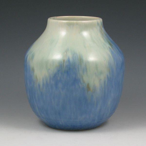 "7: Roseville Imperial II 472-7"" Vase - Exc. w/ Label"