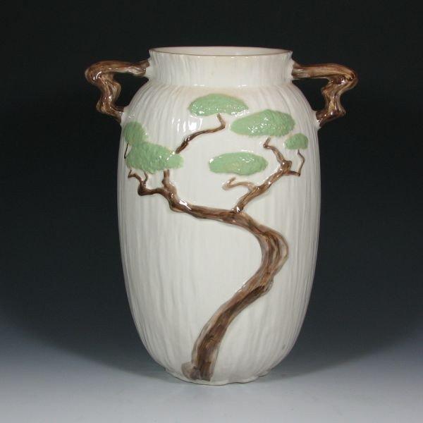 """21: Roseville Ming Tree 586-15"""" Vase - Mint"""