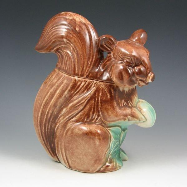 57: McCoy Multicolor Fox Squirrel Cookie Jar - Mint