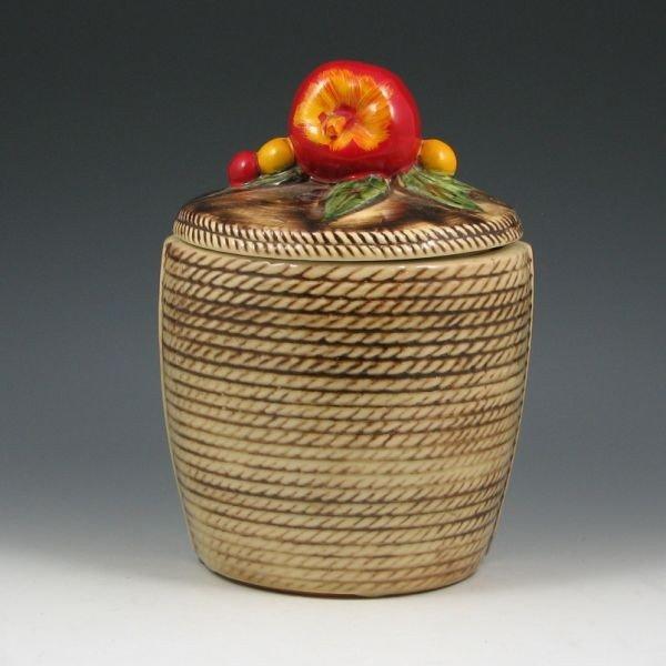 386: McCoy Forbidden Fruit Cookie Jar - Excellent