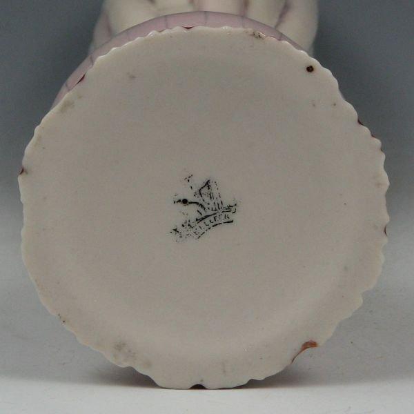 4: Belleek Onion Spill Vase - 1st Black - 3