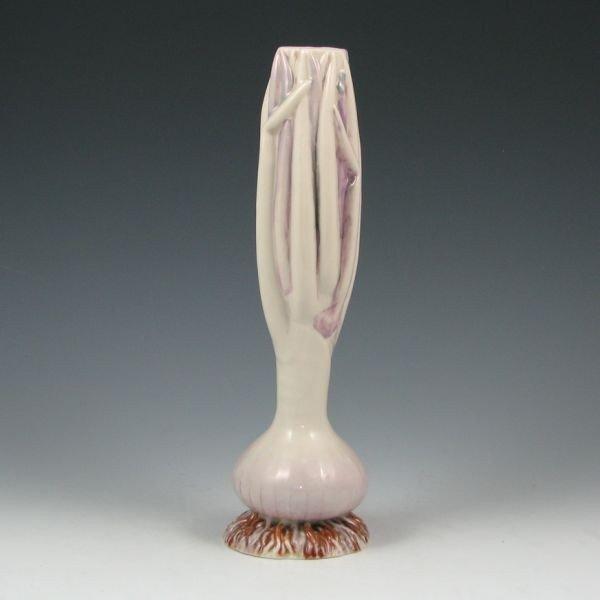 5: Belleek Onion Spill Vase - 1st Black