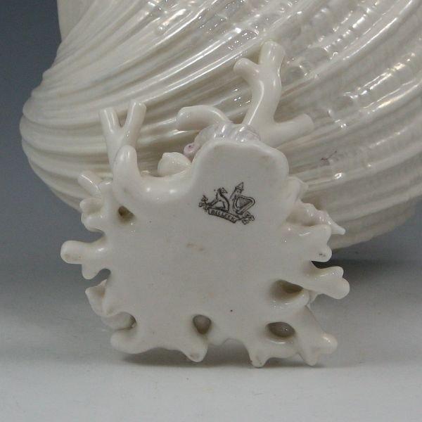 11: Belleek Cardium On Coral - 1st Black - 3