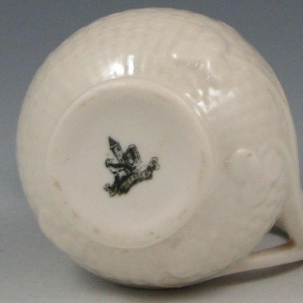 28: Belleek Shamrock Toy Cream - 1st Black - 2