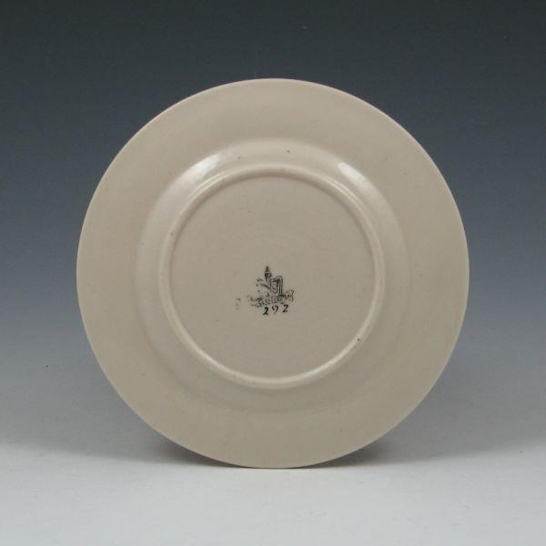 "51: Belleek Convolvulus 5 7/8"" Plate - 1st Black - 2"