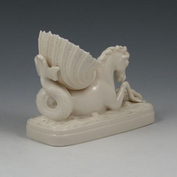 75: Belleek Seahorse & Shell - 1st Impressed - 2