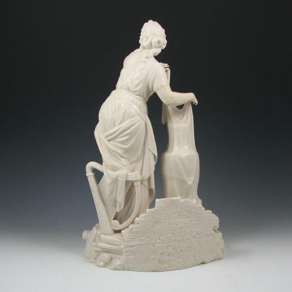 104: Belleek Figure Of Erin - 1st Black - 3