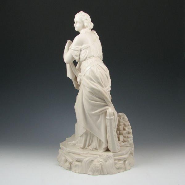 104: Belleek Figure Of Erin - 1st Black - 4