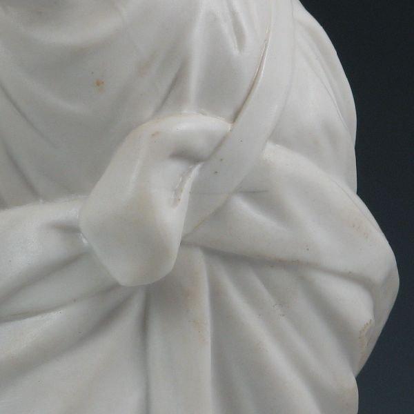 104: Belleek Figure Of Erin - 1st Black - 6