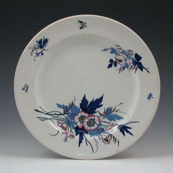 "153: Belleek Earthenware 10 1/2"" Plate - 1st Impressed"