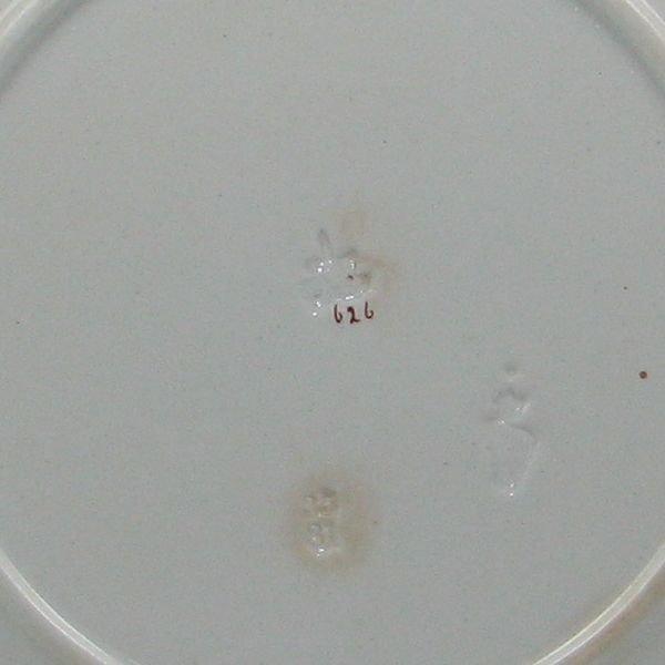 "153: Belleek Earthenware 10 1/2"" Plate - 1st Impressed - 2"