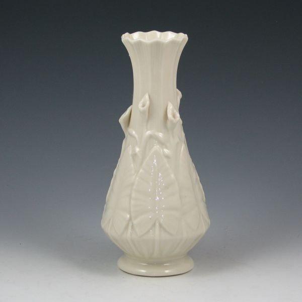 157: Belleek Nile Vase