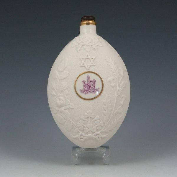 161: Belleek Flask - 2