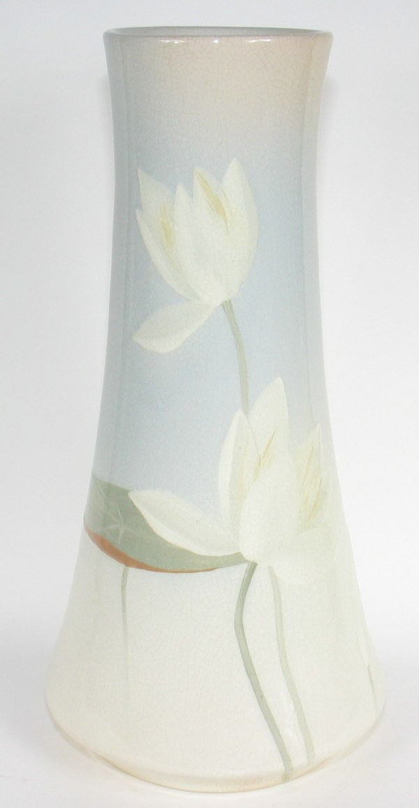 "16: Owens Lotus 16 3/8"" Vase by Chilcote - Mint"