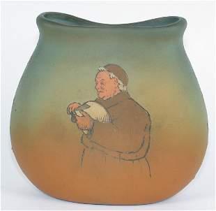 """Weller Dickensware 5"""" Vase Mint"""