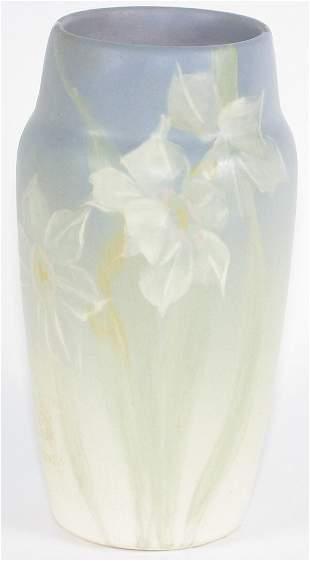 """Weller Hudson 6 7/8"""" Vase Mint"""
