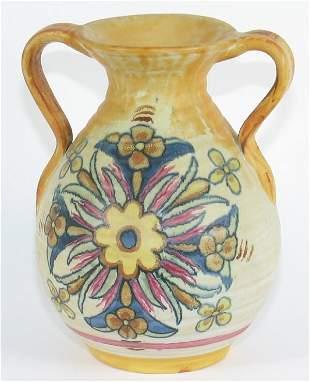 """Weller Barcelona 6 1/4"""" Vase Mint"""