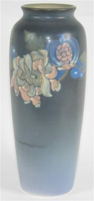 "Rookwood Vellum 11"" Vase by Klinger Mint"