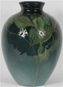 601: Rookwood Sea Green Vase by Coyne Mint
