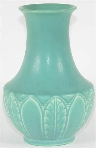 """Rookwood Matte 6 3/4"""" Vase Menzel Mint"""