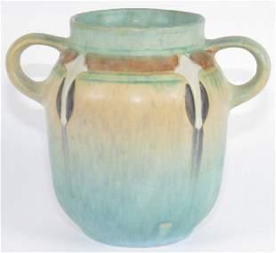 """Roseville Montacello 6"""" Vase Mint"""