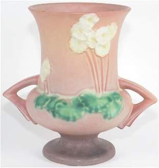 """Roseville Primrose 7"""" Vase Mint"""