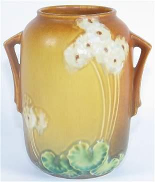 """Roseville Primrose 6"""" Vase Mint"""