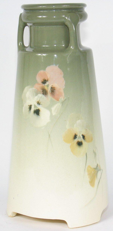 """16: Roseville Rozane Light 10"""" Vase - Mint"""