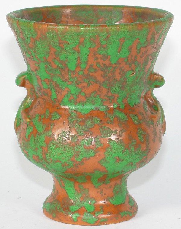 "22: Weller Coppertone 5"" Vase - Mint"