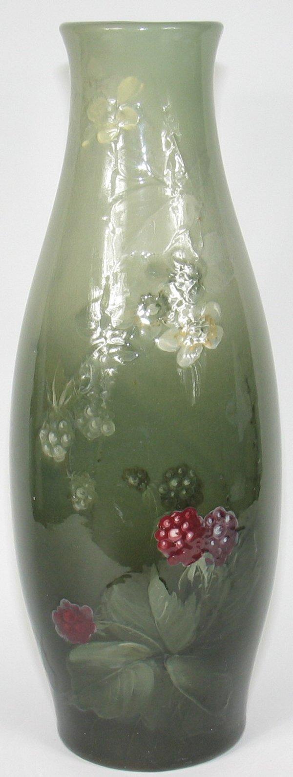 """183: Weller Eocean 15 3/8"""" Vase by McLaughlin"""