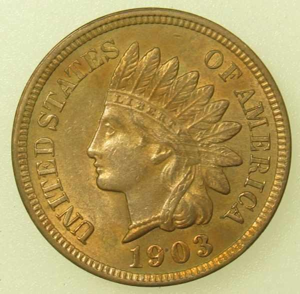 23: 1903 Indian Head Cent Gem Uncirculated