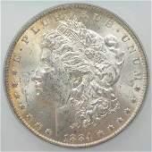 198: 1884-O Morgan Dollar ICG MS 63