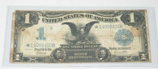 368: 1899 Large Size $1 Silver Certificate