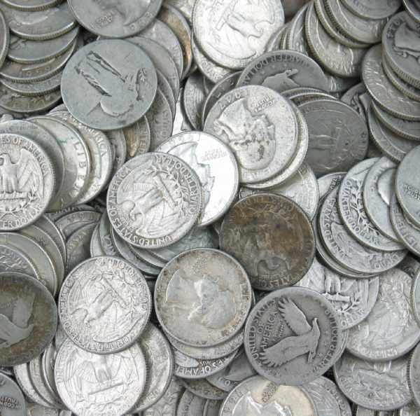 4: Lot of 240 Silver Washington Stand. Lib. Quarters