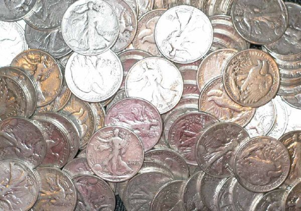 10: Lot of Forty (40) Walking Liberty Halves