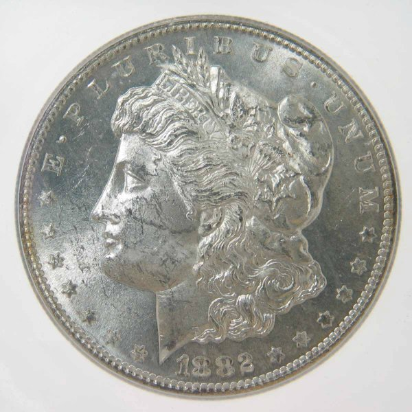 19: 1882-S Morgan Silver Dollar ICG MS63 VAM 20
