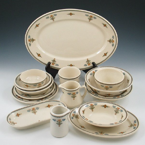 301: Syracuse Old Ivory Regent China Pieces (Fifteen)