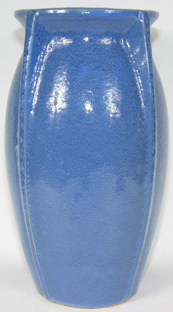 """150: Large McCoy Arts & Crafts 14"""" Vase - Mint"""