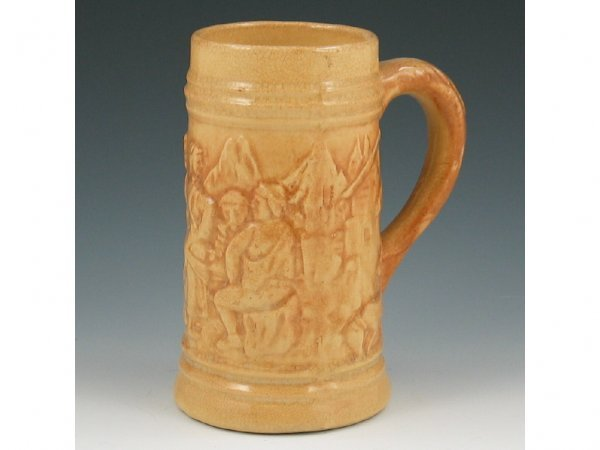 1: Hull Early Stoneware #492 Stein