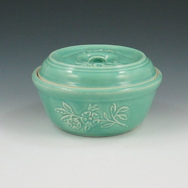 4: Hull Early Utility Primrose Covered Bowl