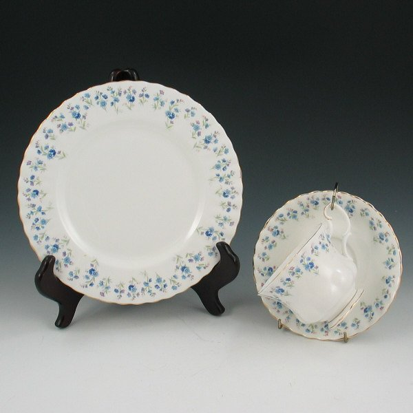 14: Royal Albert Memory Lane Plate, Cup & Saucer
